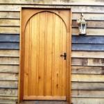 Oak curved door 2