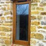 sigle Oak window
